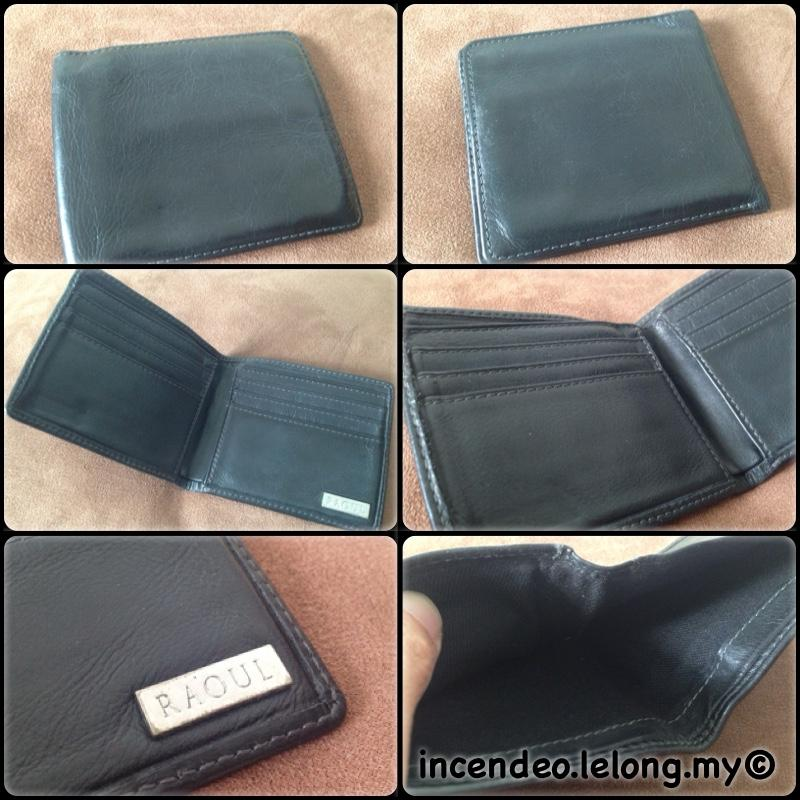 **incendeo** - Authentic RAOUL Black Genuine Leather Wallet