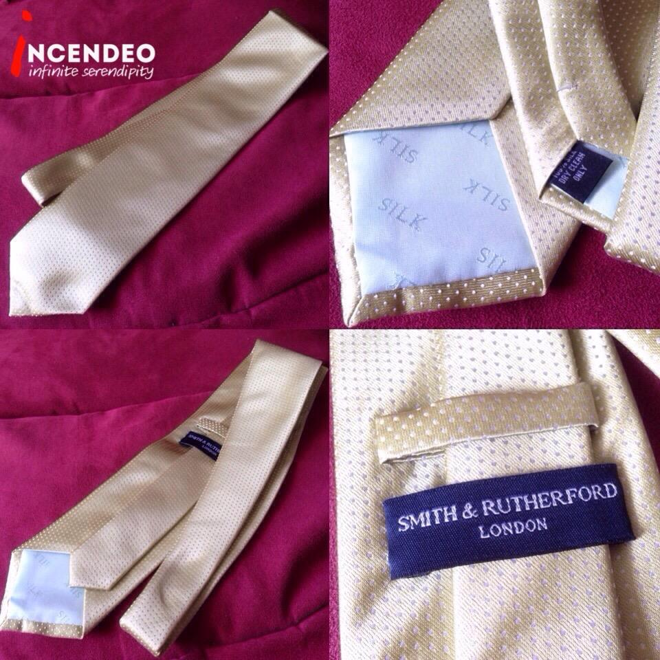 **incendeo** - Authentic SMITH & RUTHERFORD London Silk Tie