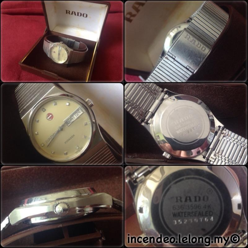 **incendeo** - Authentic Vintage RADO Voyager Automatic Watch