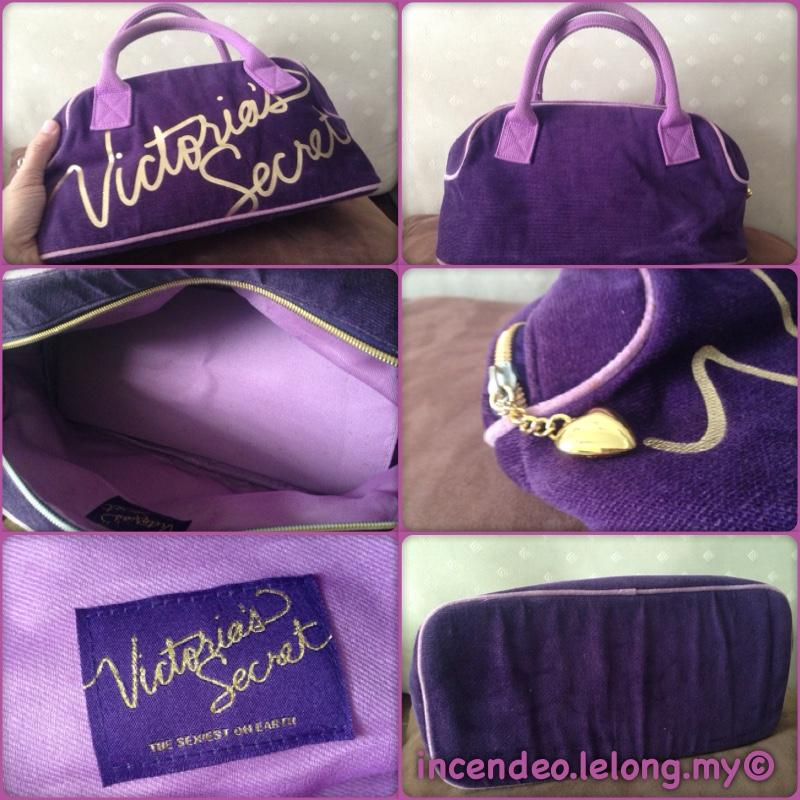 **incendeo** - Authentic Vitoria's Secret Purple Handbag for Ladies