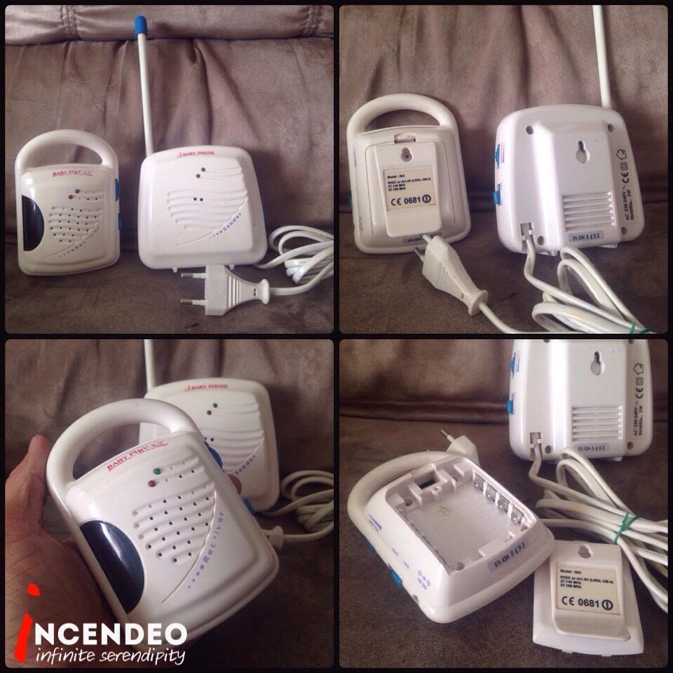 **incendeo** - Baby Phone Baby Monitor 862