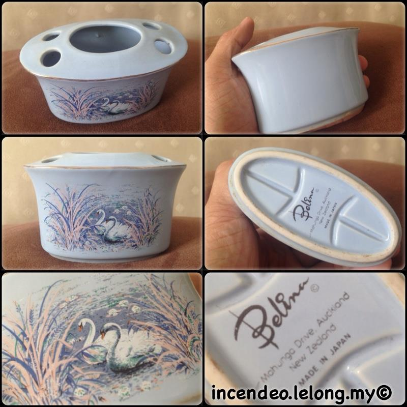 **incendeo** - BELINA New Zealand Porcelain Toothbrush Holder