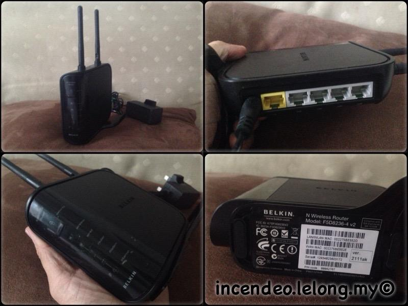 **incendeo** - BELKIN N Wireless Router F5D8236-4v2