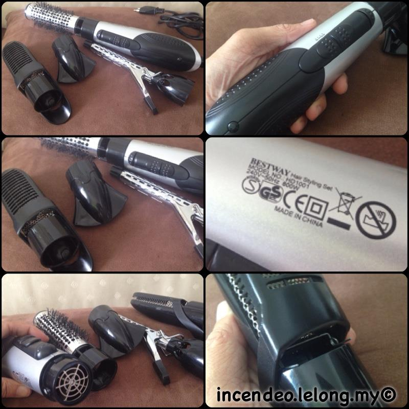 **incendeo** - BESTWAY Hair Styling Set HD1001