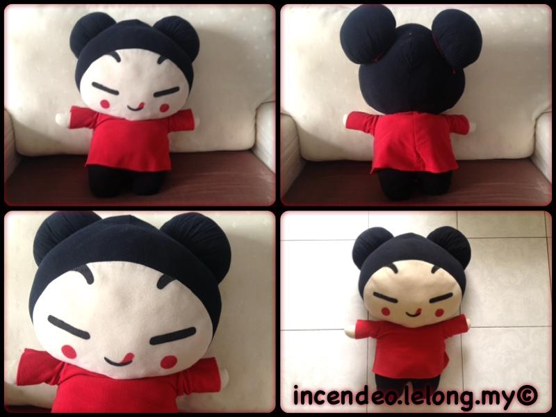 **Incendeo** - BIG SIZE Pucca Soft Toy
