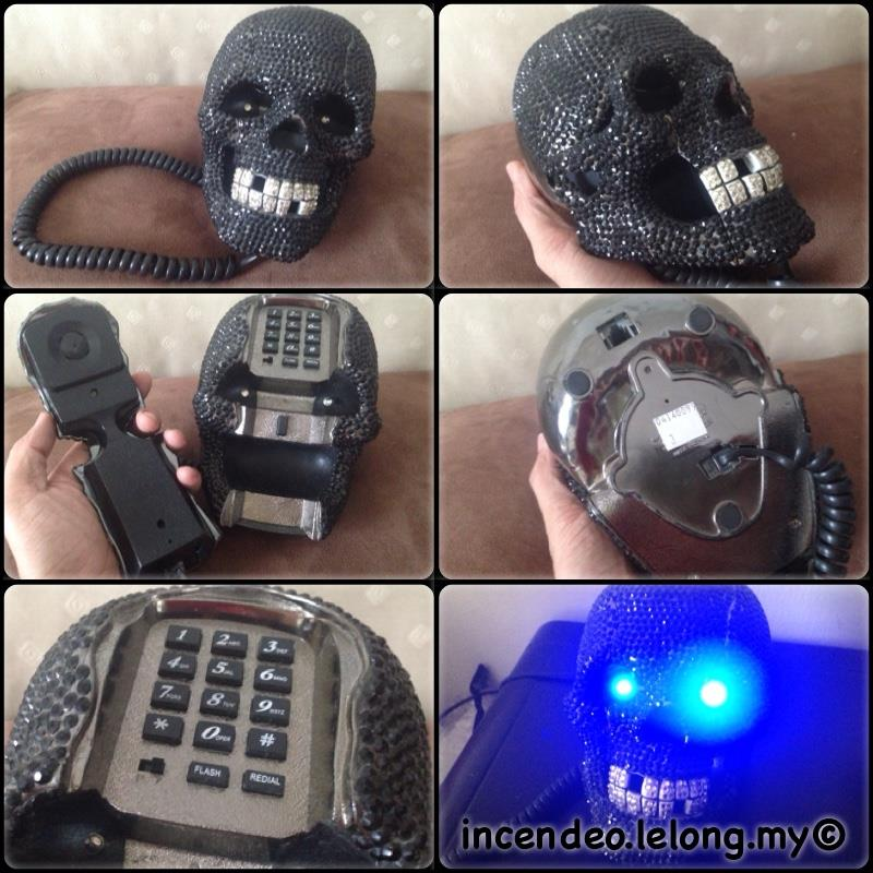 **incendeo** - Black Diamond Skull Designer Phone