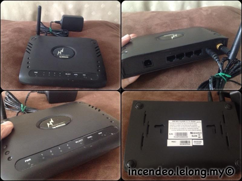 **incendeo** - Blue Thunder Wireless-G ADSL2+ Router