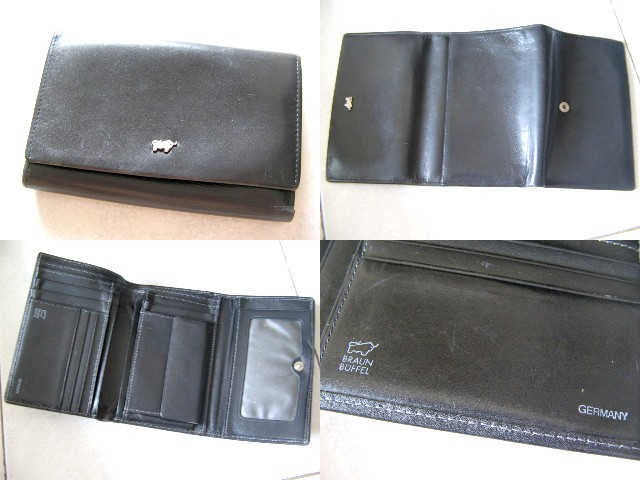 **Incendeo** - Braun Buffel Germany Genuine Leather Wallet for Ladies