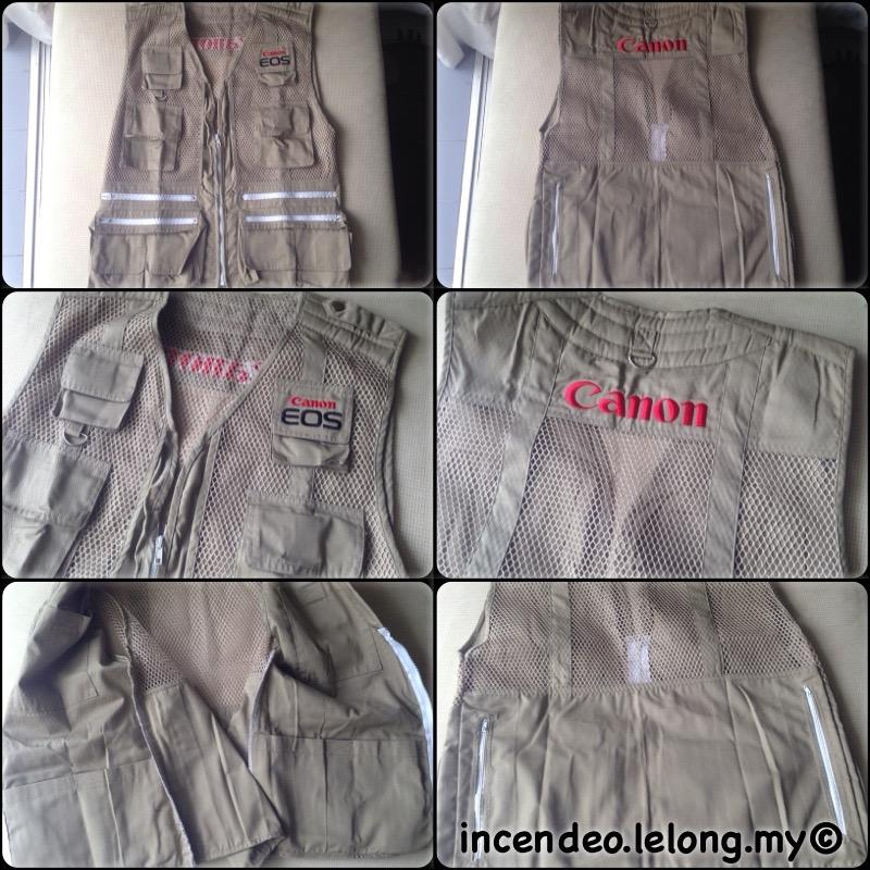 **incendeo** - CANON EOS Limited Photographer Pockets Vest Jacket