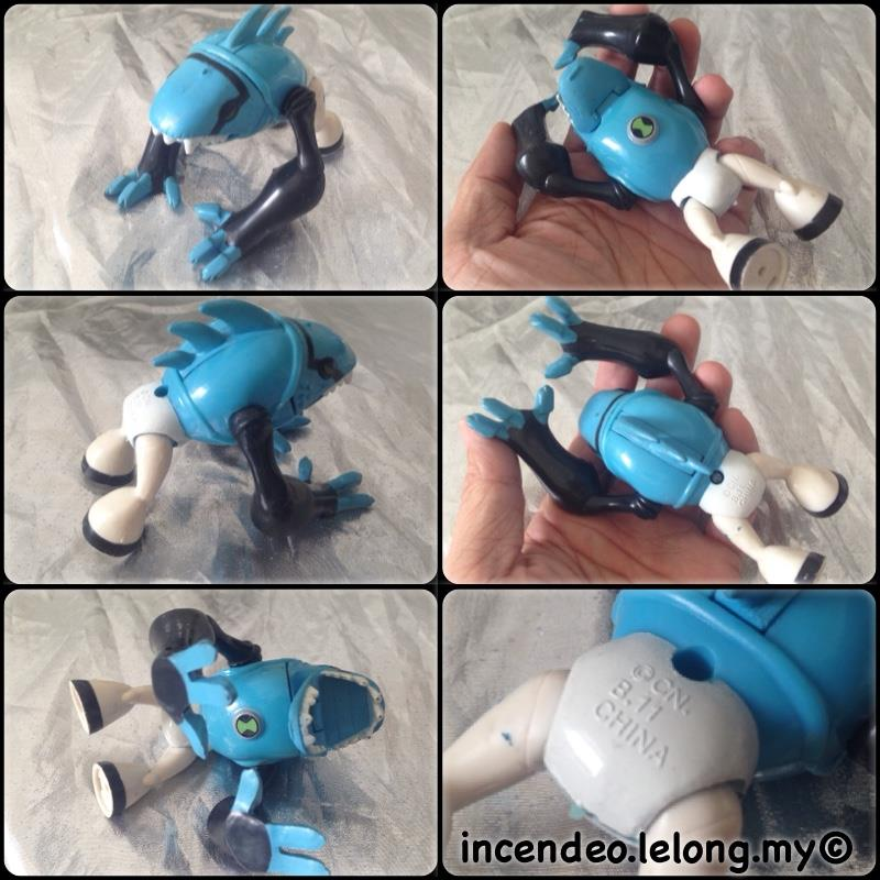 **incendeo** - Cartoon Network Ben 10 Articguana Toy