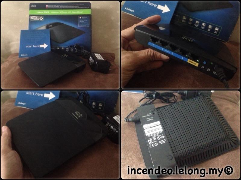**incendeo** - CISCO Linksys Wireless-N Router with Speedboost E1500