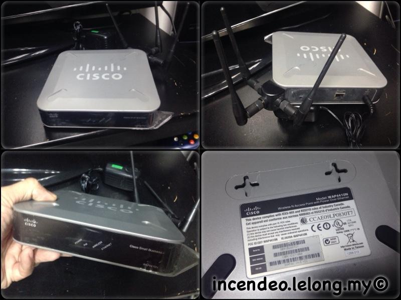 **incendeo** - CISCO Wireless-N Access Point with POE WAP4410N