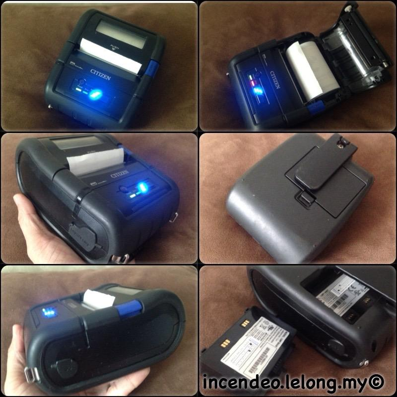 **incendeo** - CITIZEN Direct Thermal Printer CMP-30