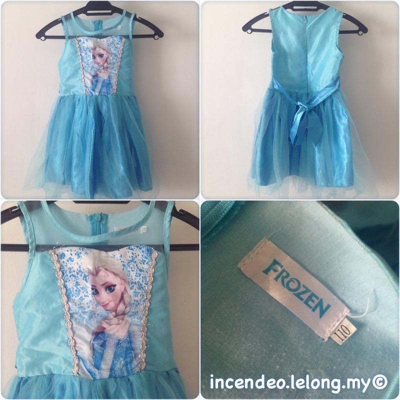 **incendeo** - Disney FROZEN Elsa Princess Dress