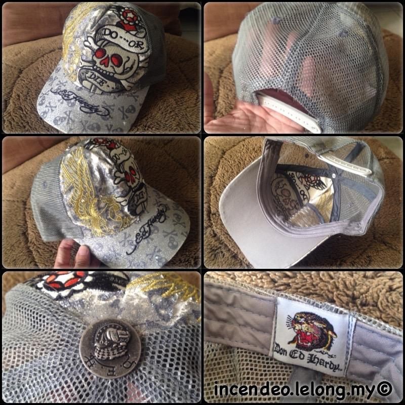 **incendeo** - Don Ed Hardy Silver Skull Cap