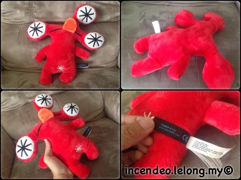 "**incendeo** - dooodolls Third Eye 12"" Plush Toy"
