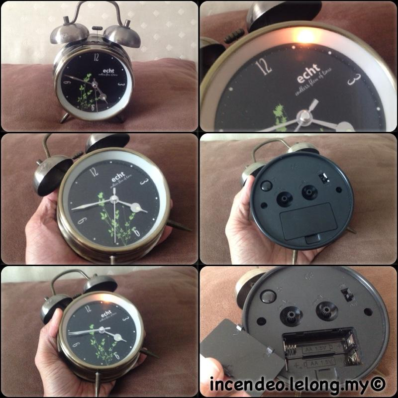 **incendeo** - echt endless flow of time Alarm Clock with Light