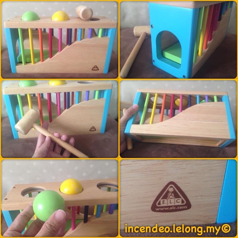 **incendeo** - ELC UK Wooden Hammer Ball Toys