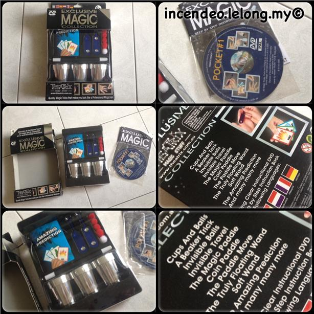 **Incendeo** - EXCLUSIVE MAGIC Collection with Training DVD