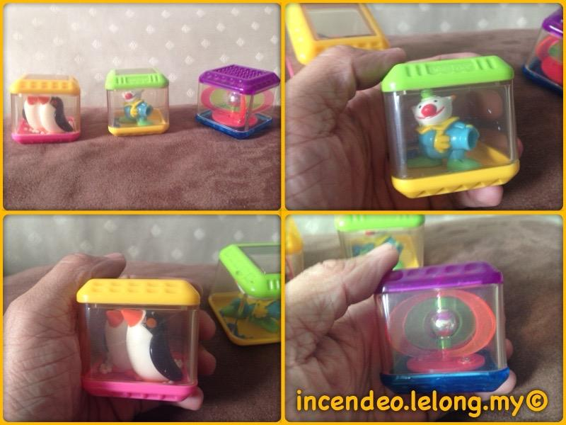 **incendeo** - FISHER-PRICE Activity Cube Set #3