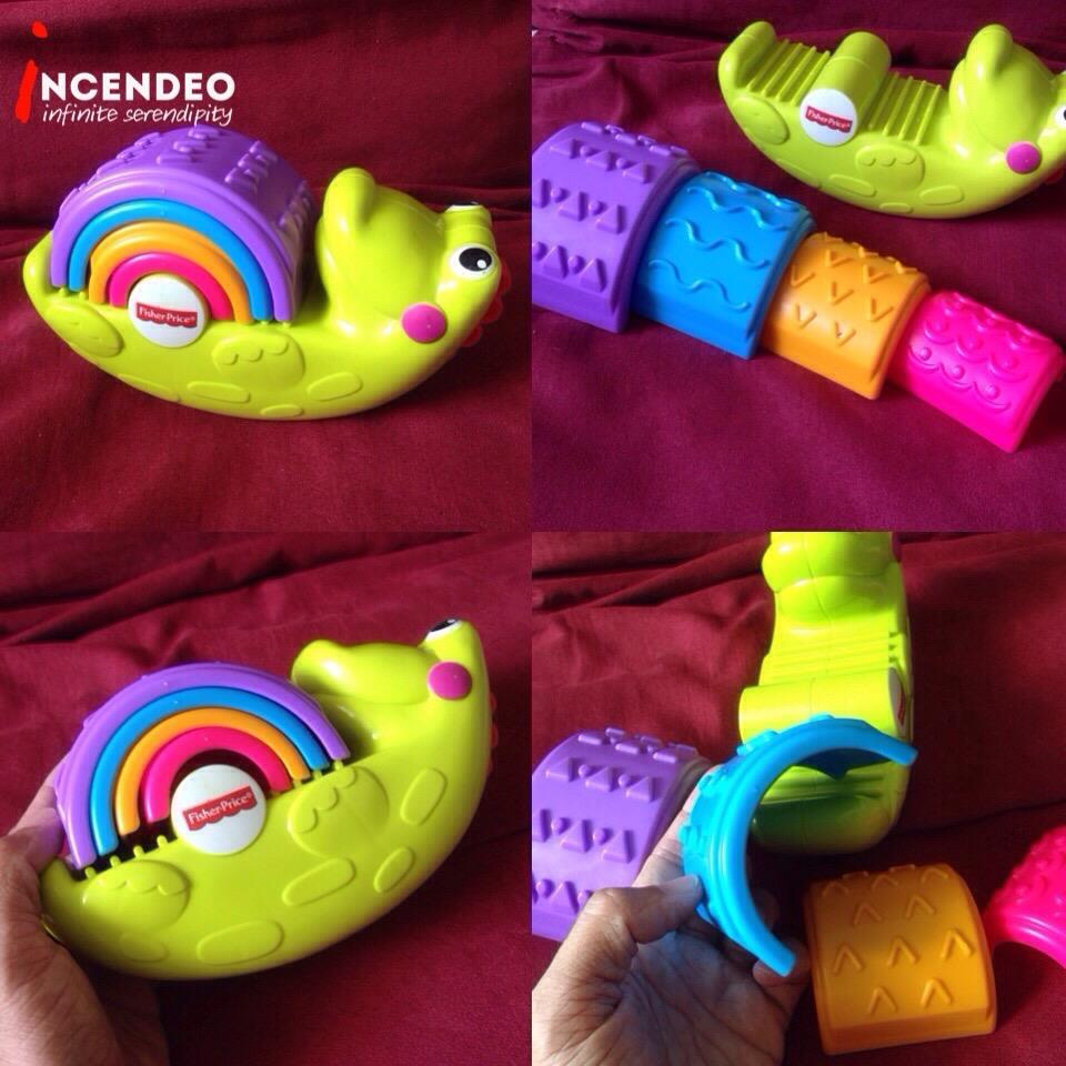 **incendeo** - Fisher-Price Crocodile Shape Sorting Toy for Toddlers