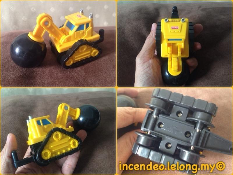 **incendeo** - FISHER-PRICE Demolition Construction Vehicle