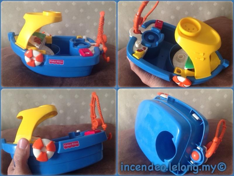 **incendeo** - FISHER-PRICE Fishing Boat for Kids