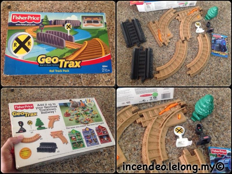 **incendeo** - Fisher-Price GeoTrax Rail Track Pack