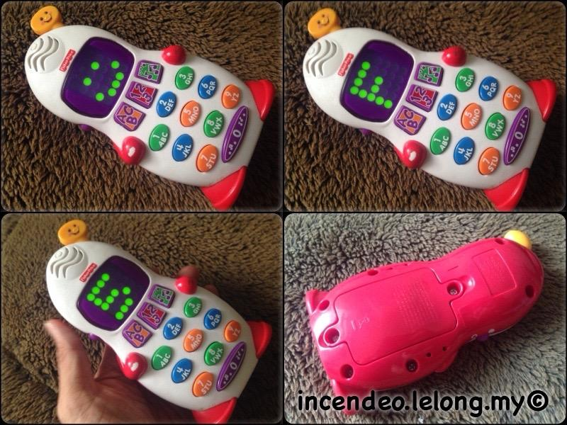 **incendeo** - Fisher-Price Learning Talking Phone for Kids