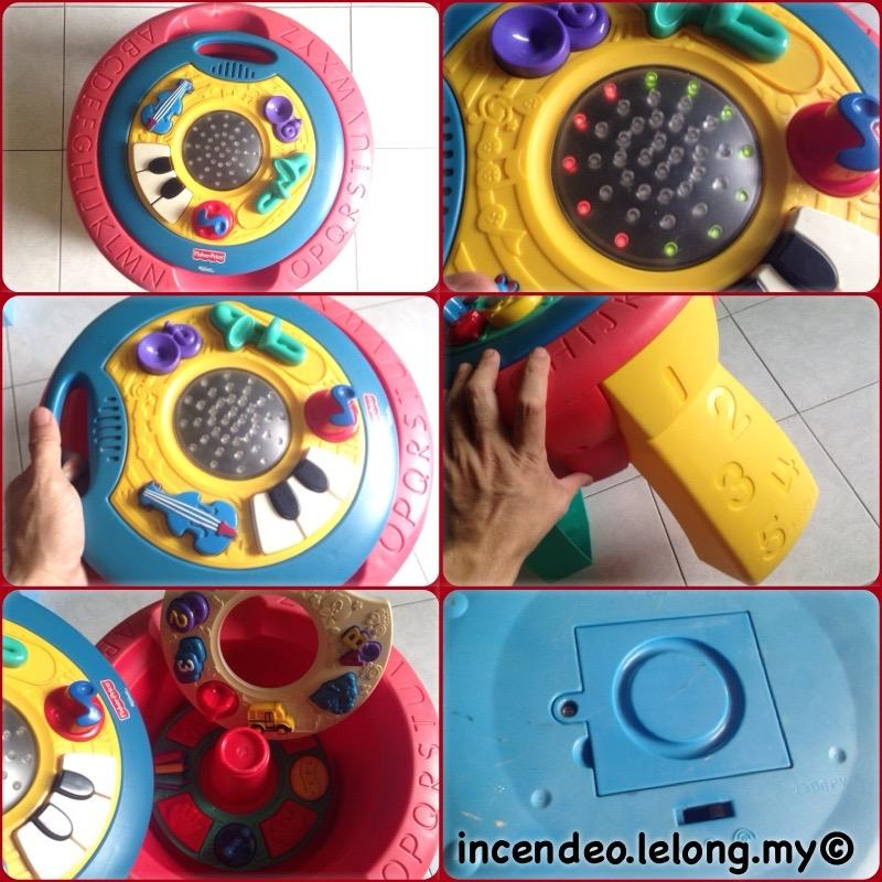 **incendeo** - FISHER PRICE Microsoft Smart Technology Table