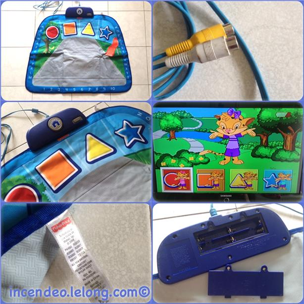 **Incendeo** - FISHER PRICE Smart Fit Park TV-interactive Game