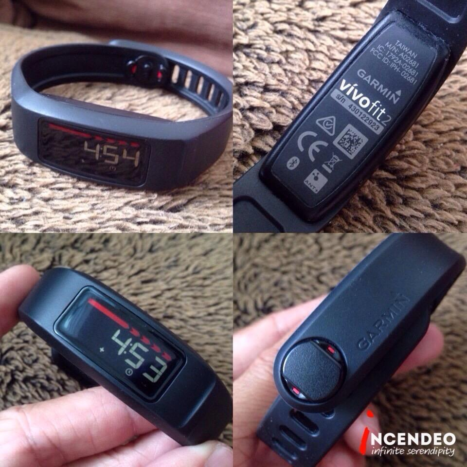 **incendeo** - GARMIN VivoFit 2 Fitness Smart Band