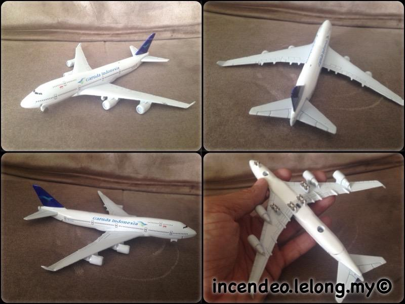 **incendeo** - Garuda Indonesia Airlines Collectible Diecast Aircraft