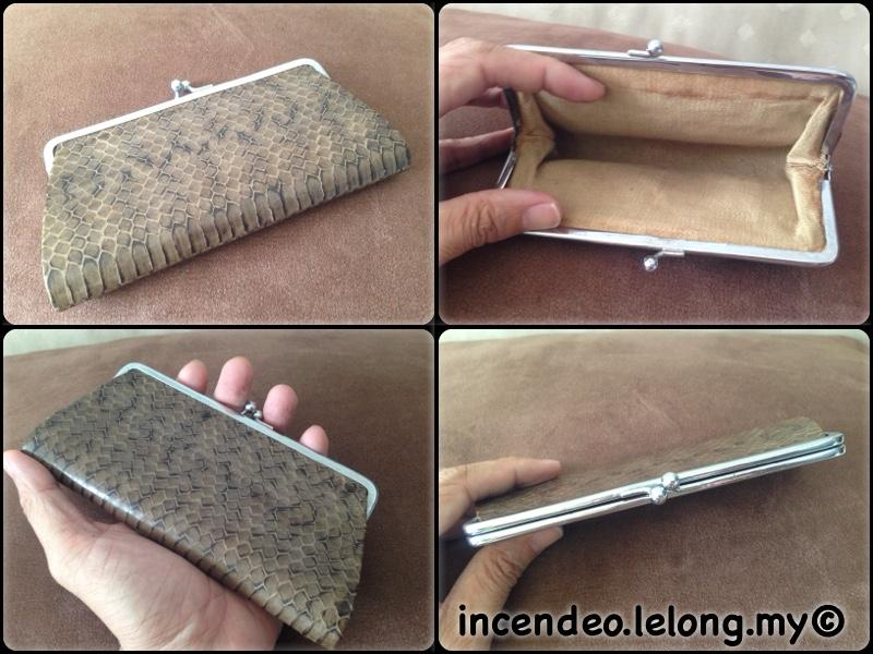 **incendeo** - Genuine Snake Skin Evening Purse for Ladies