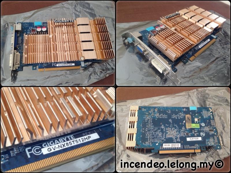 **incendeo** - GIGABYTE GeForce 8500GT 512MB PCI Express Display Card