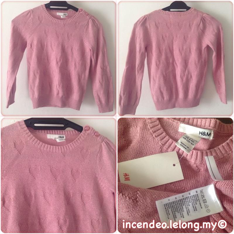 **incendeo** - H&M Pink Sweater for Girls