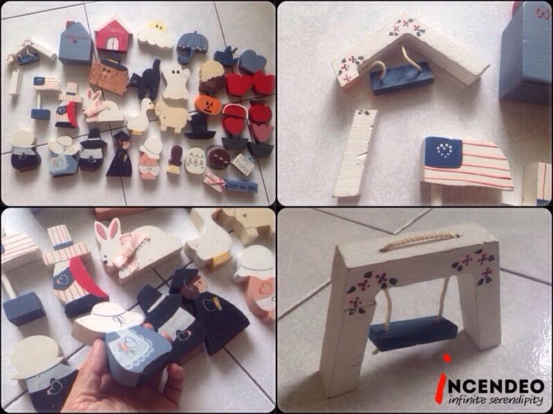 **incendeo** - Halloween Wooden Block Toy for Kids