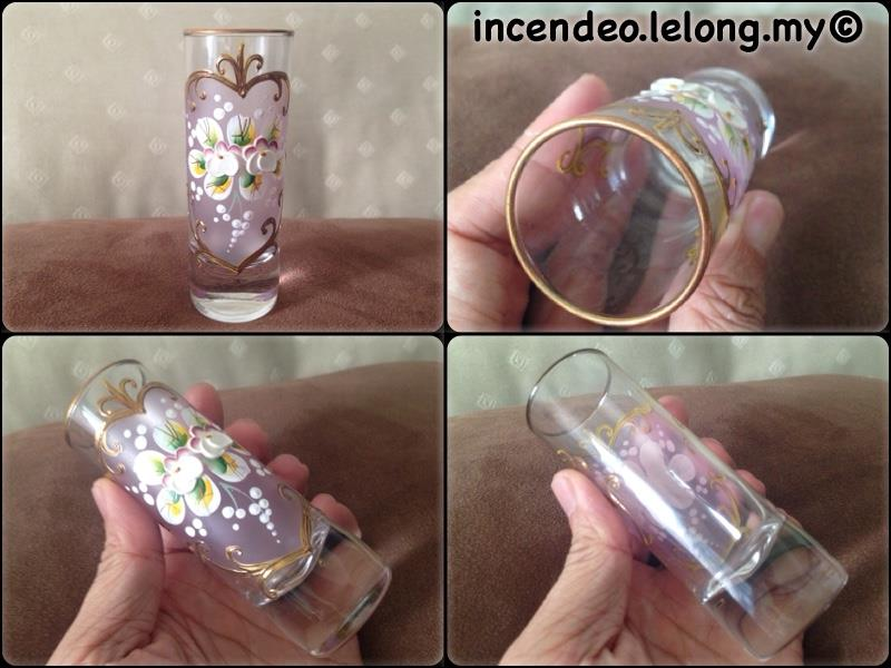 **incendeo** - Hand Painted Flowers Glass