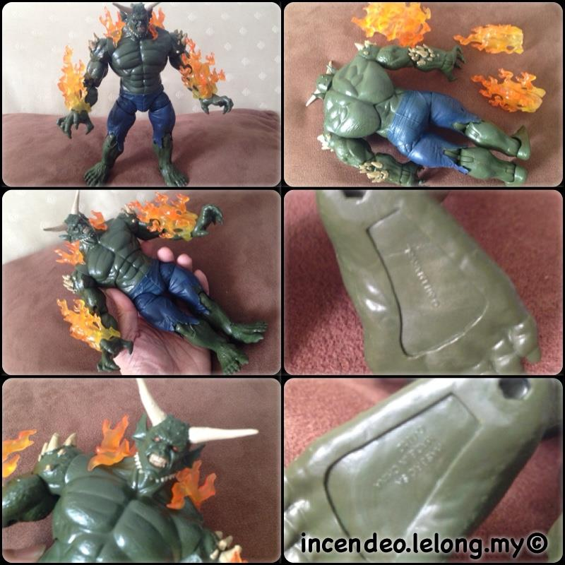 **incendeo** - HASBRO Marvel Legend Infinite Ultimate Green Goblin