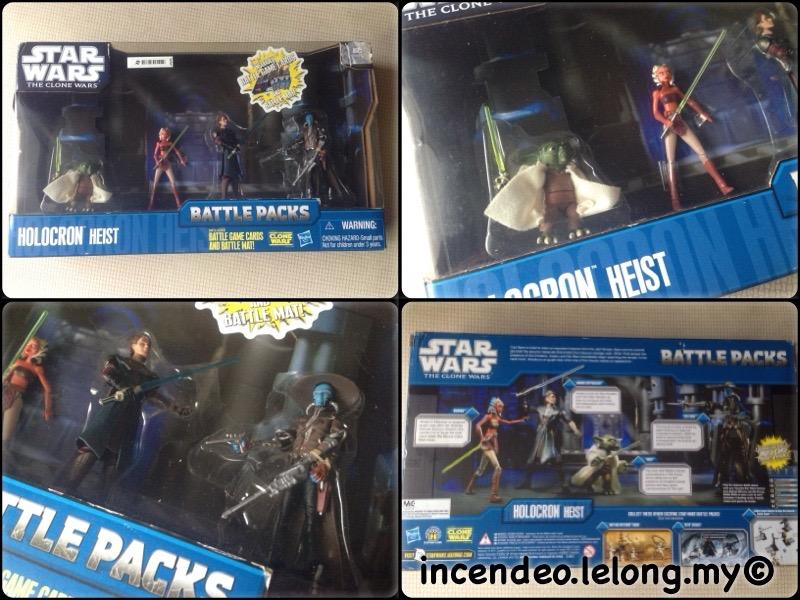 **incendeo** - HASBRO Star Wars Holocron Heist Battler Packs