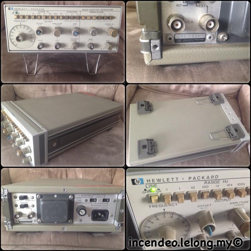 **incendeo** - HEWLETT PACKARDS 3312A Function Generator