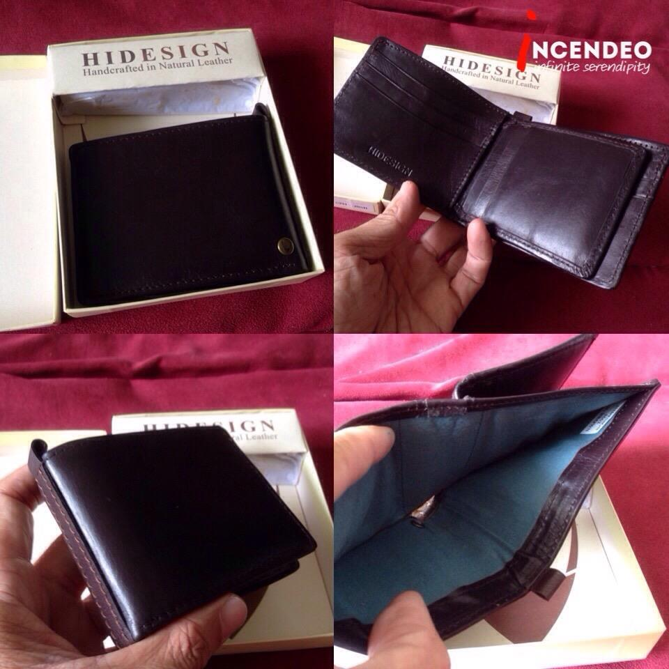 **incendeo** - HIDESIGN Handcrafted Natural Leather Wallet