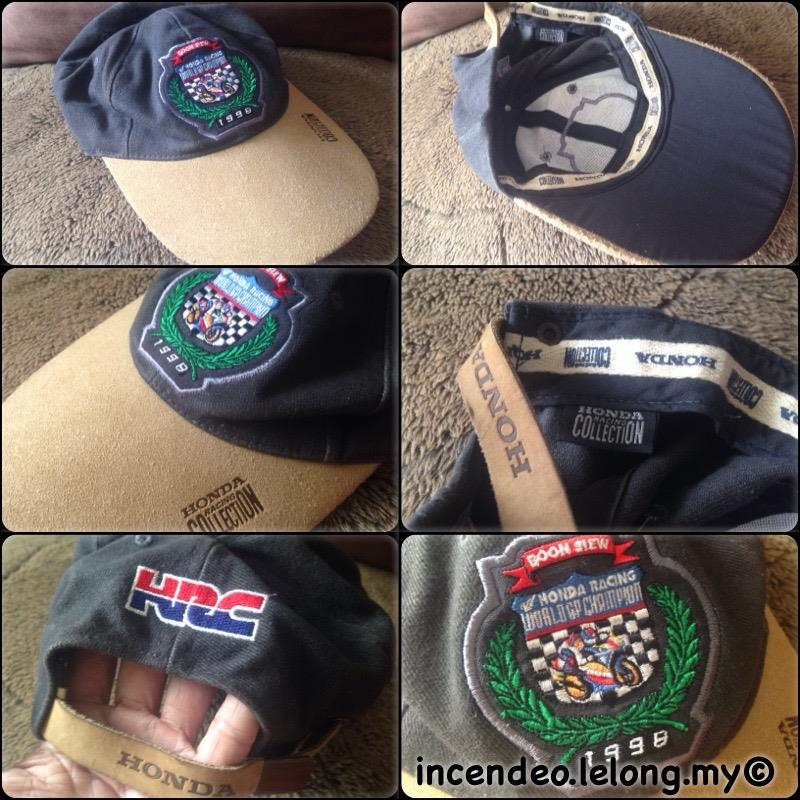 **incendeo** - HONDA Racing Collection World GP Champion 1998 Cap