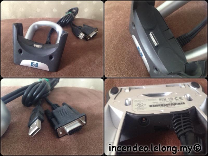 **incendeo** - hp iPAQ USB and Serial Cradle
