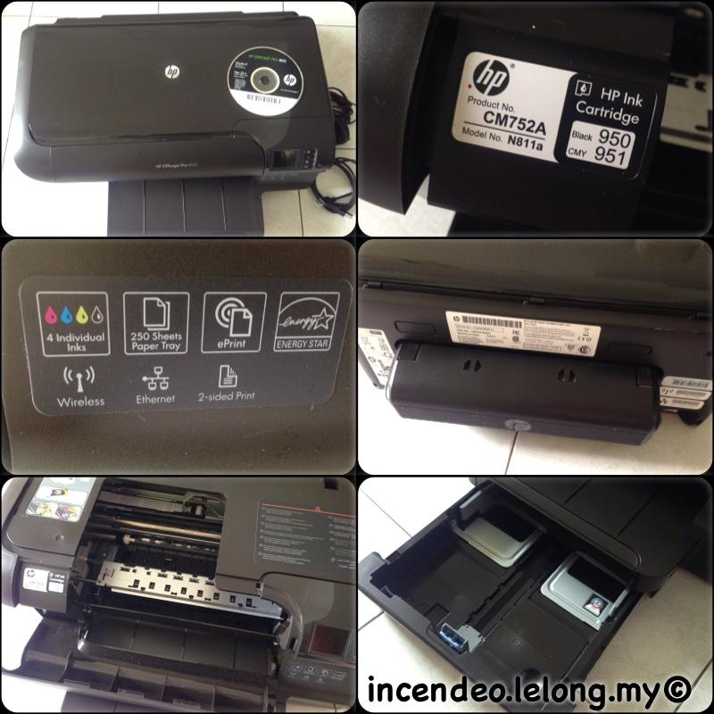 **Incendeo** - HP OfficeJet 8100 Pro ePrinter