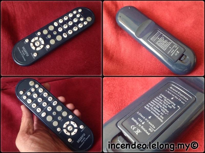 **incendeo** - HUAYU Universal TV Remote Control HR-N98