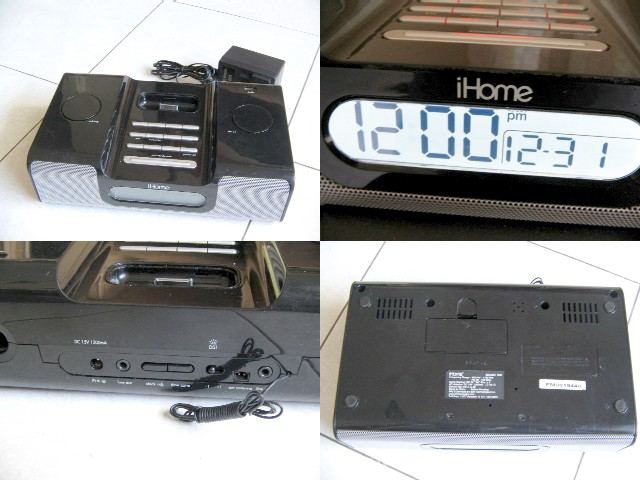 **Incendeo** - iHome iH6 Clock Receiver for Apple Ipod
