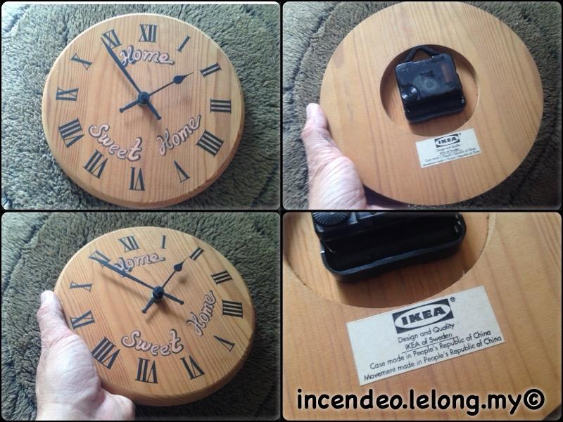 **incendeo** - IKEA Home Sweet Home Wooden Clock