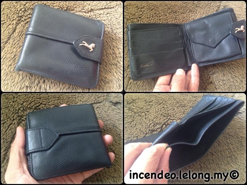 **incendeo** - Jodhpur Paris Black Genuine Leather Wallet