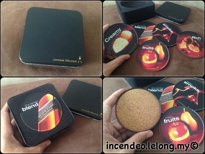 **incendeo** - JOHNNIE WALKER The Perfect Blend Drink Coaster Set